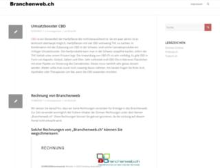 branchenweb.ch screenshot