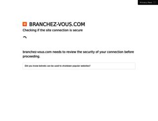 branchez-vous.com screenshot