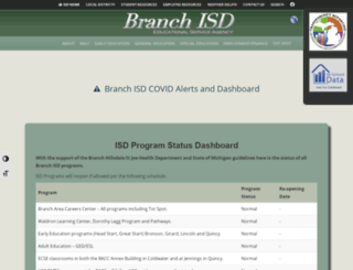 branchisd.org screenshot