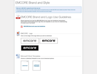 brand.emcore.com screenshot
