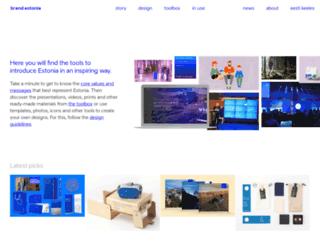 brand.estonia.eu screenshot