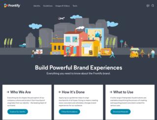 brand.frontify.com screenshot