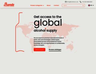 branda.co.uk screenshot