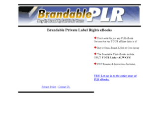 brandableplr.com screenshot