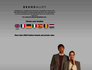 brandalley.com screenshot