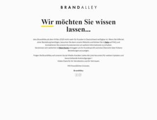 brandalley.de screenshot