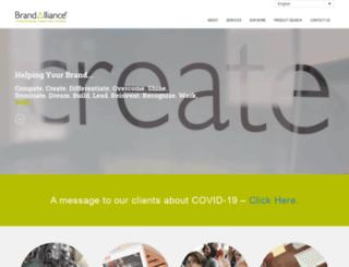 brandalliance.com screenshot