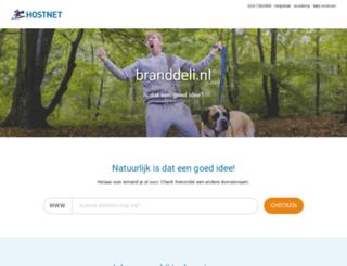 branddeli.nl screenshot