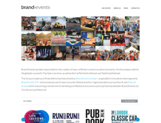 brandevents.co.uk screenshot