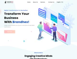 brandhex.com screenshot