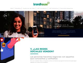 brandhouse.com.mx screenshot