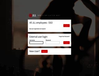 brandhub.jll.com screenshot