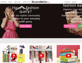 brandiktiv.com screenshot