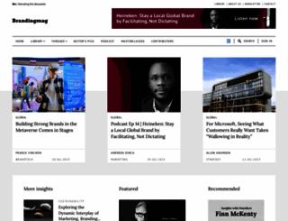 brandingmagazine.com screenshot