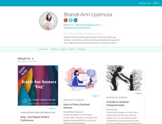 brandiuyemura.contently.com screenshot