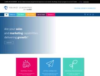 brandlearning.com screenshot