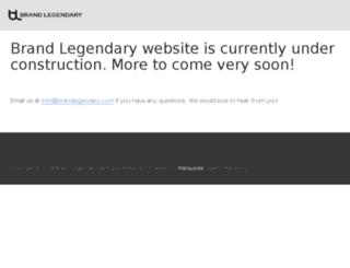 brandlegendary.com screenshot