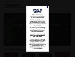 brandler-galleries.com screenshot