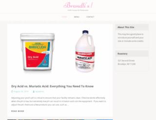 brandlispizza.com screenshot