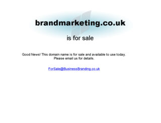 brandmarketing.co.uk screenshot