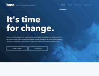 brandmyeliquid.com screenshot