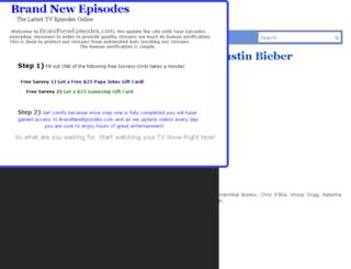 brandnewepisodes.com screenshot