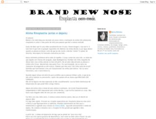 brandnewnose.blogspot.com.br screenshot