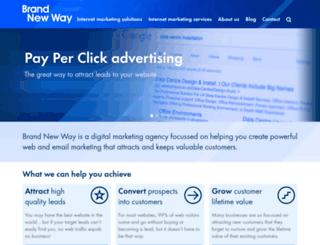 brandnewway.com screenshot