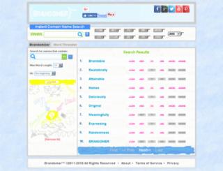 brandomer.com screenshot