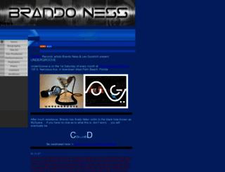 brandoness.com screenshot