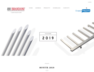 brandoni.com screenshot
