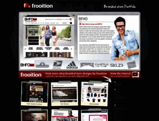 brands.frooition.com screenshot