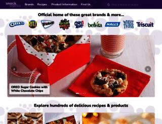 brands.nabisco.com screenshot