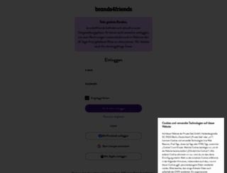 brands4friends.de screenshot
