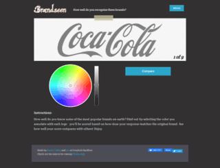 brandseenapp.com screenshot