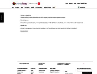brandsfever.com screenshot