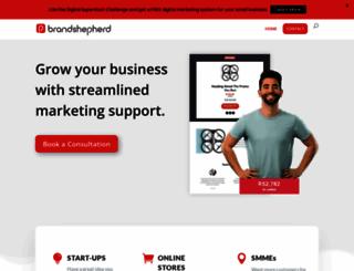 brandshepherd.co.za screenshot