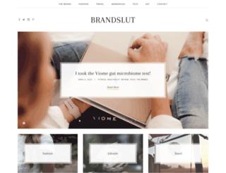 brandslut.co.za screenshot