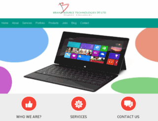 brandsourcetechnologies.com screenshot