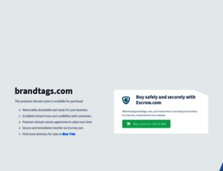 brandtags.com screenshot
