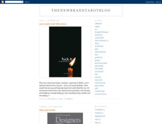 brandtarot.blogspot.com screenshot