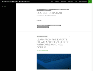 brandusescuanamaria1.wordpress.com screenshot