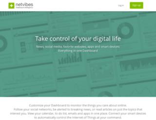 brandwatchclone.netvibesbusiness.com screenshot