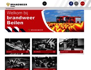 brandweerbeilen.nl screenshot