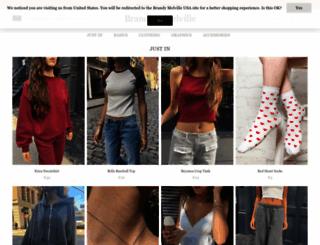 brandymelville-france.com screenshot