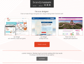 brandyrussum.com screenshot