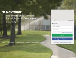 brandywoods.nextdoor.com screenshot
