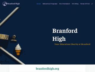 branfordhigh.org screenshot