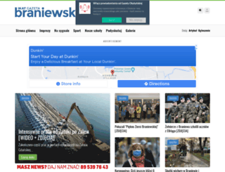 braniewo.wm.pl screenshot