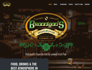 branniganspub.com screenshot